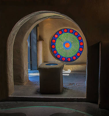Photograph - Historic Albuquerque Chapel by Phyllis Holler