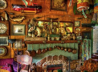 Photograph - Historic Anchor Inn by Thom Zehrfeld