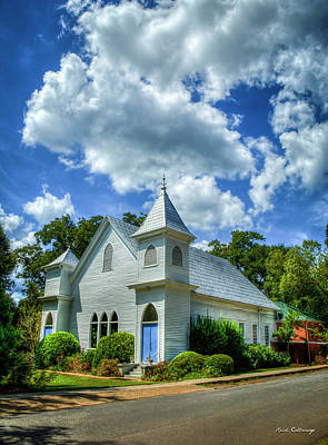 Photograph - Historic Church Watkinsville Georgia Art by Reid Callaway