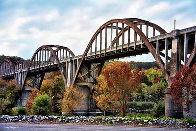 Photograph - Historic Cotter Bridge by Wesley Nesbitt