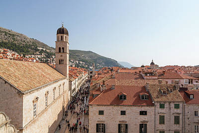 Photograph - Historic Dubrovnik by John Daly