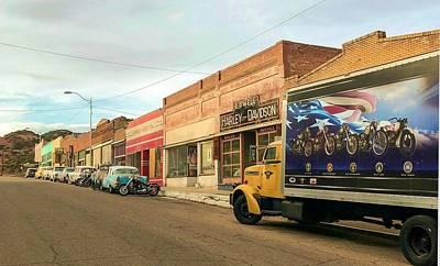 Photograph - Historic Lowell In Bisbee Arizona by Tatiana Travelways