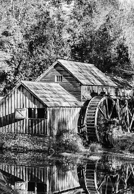 Historic Mabry Mill Art Print