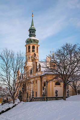 Photograph - Historic Monument Loreta In Wintertime by Jenny Rainbow