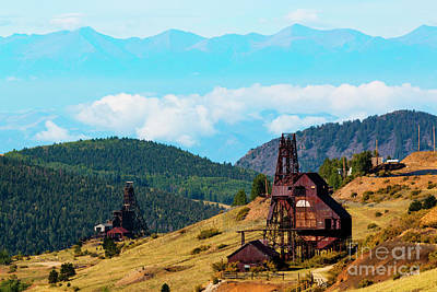 Photograph - Historic Victor Gold Mining by Steve Krull