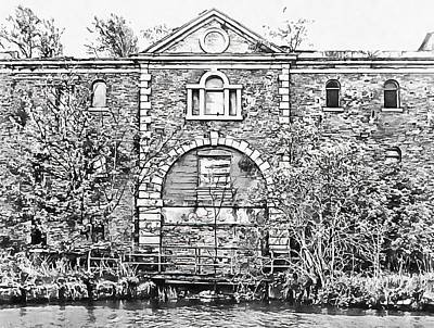 Photograph - History Along The Canal Towpath by Dorothy Berry-Lound