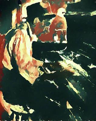 Painting - Hoagy Carmichael by Dan Sproul