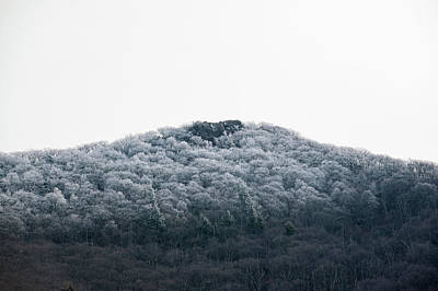 Hoarfrost On The Mountain Art Print