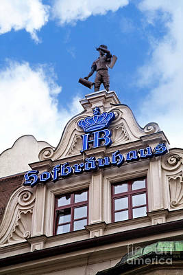 Photograph - Hofbrauhaus by Scott Kemper