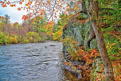 Photograph - Hogback Dam Pool by Tom Cameron