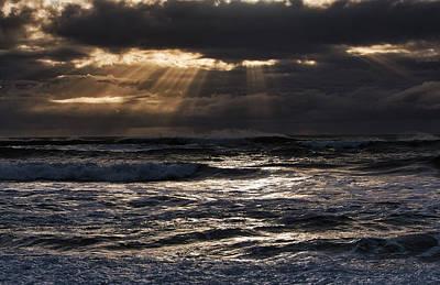 Photograph - Hokitika Beach New Zealand Iv by Steven Ralser