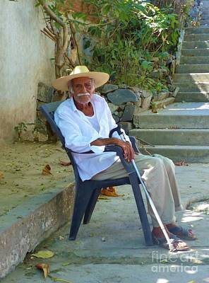 Photograph - Hola Senor by Rosanne Licciardi
