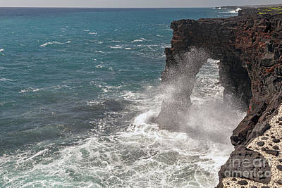 Photograph - Holei Sea Arch by Jim West