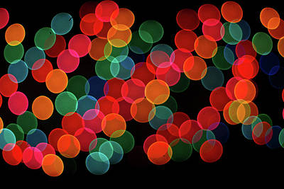 Photograph - Holiday Lights by Ron Roberts