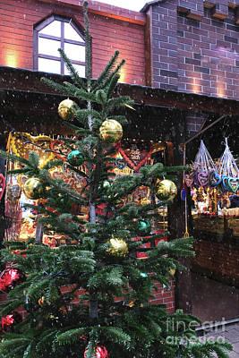 Photograph - Holidays Christmas Market by Marina Usmanskaya