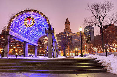 Photograph - Holidays In Boston by Denistangneyjr
