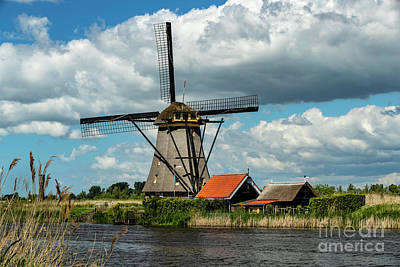 Photograph - Holland's Windmills by David Harwood