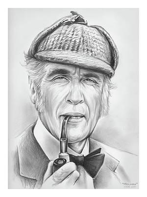 Drawing - Holmes by Greg Joens