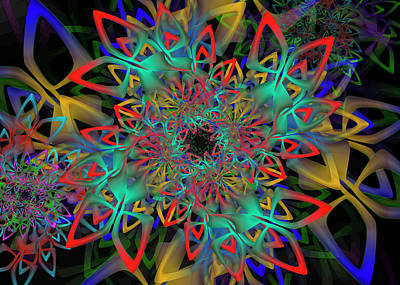 Digital Art - Hologram Complex Remix by Vitaly Mishurovsky