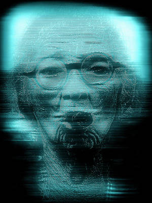 Photograph - Hologram Of Smokin' Graciela The Famous Cigar Lady by Max Huber