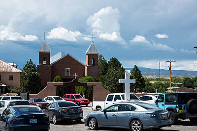 Photograph - Holy Cross Parking Lot by Tom Cochran