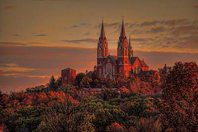 Photograph - Holy Hill Sunrise by Dale Kauzlaric
