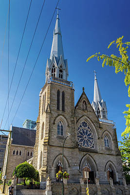 Photograph - Holy Rosary Cathedral by Ross G Strachan