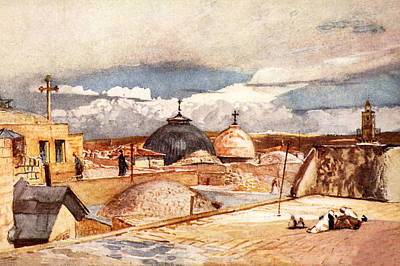 Beers On Tap - Holy Sepulchre Church Domes by Munir Alawi