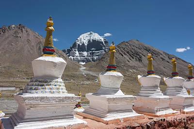 Jainism Wall Art - Photograph - Holy Stupas by Peng Shi