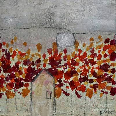 Painting - Home In The Woods by Kim Nelson