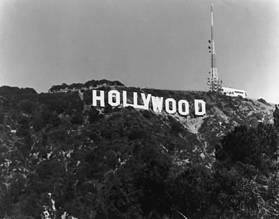 Home Of Hollywood Art Print