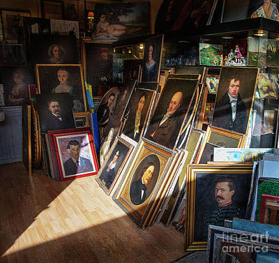 Photograph - Home Of Lost Portraits by Craig J Satterlee