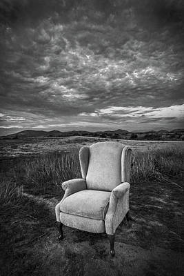 Photograph - Home On The Range - Black And White by Peter Tellone