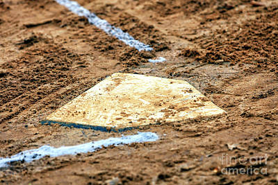 Photograph - Home Plate Is Where The Heart Is by John Rizzuto