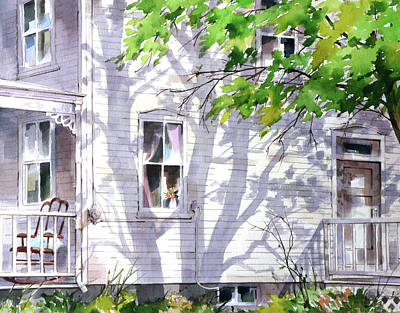 Painting - Home Shadows by Art Scholz