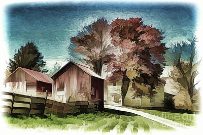 Painting - Home Sweet Home A18-115 by Ray Shrewsberry