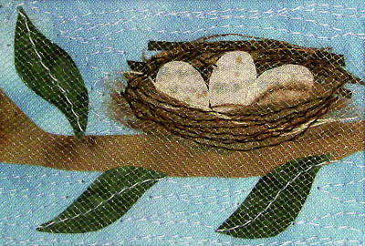 Tapestry - Textile - Home Tweet Home by Pam Geisel
