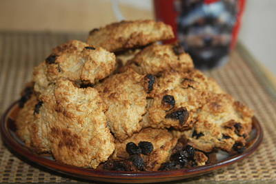 Photograph - Homemade Oatmeal Cookies by Vadim Levin