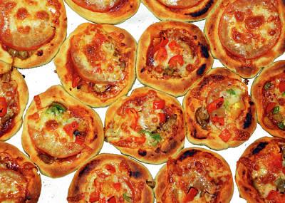 Photograph - Homemade Pizza by Munir Alawi