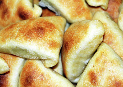 Photograph - Homemade Spinach Pies by Munir Alawi