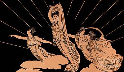 Drawing - Homer The Odyssey by Greek School