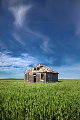 Photograph - Homestead And Wheat by Todd Klassy