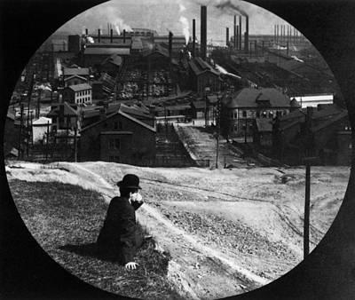 Homestead Steel Works Art Print by Hulton Archive