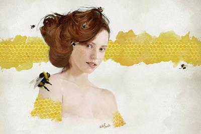 Digital Art - Honey by Nikki Marie Smith