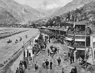 Hong Kong Derby Art Print by Hulton Archive