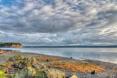 Photograph - Hood Canal View by Spencer McDonald