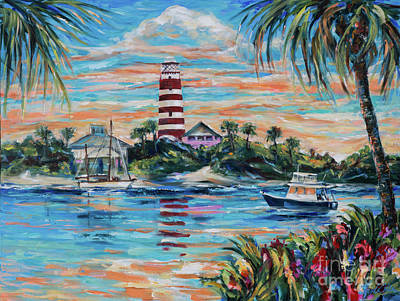 Painting - Hopetown Paradise by Linda Olsen