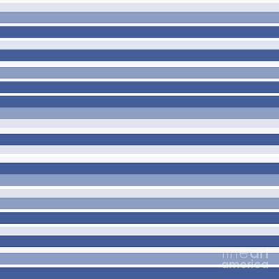 Horizontal Lines Background - Dde607 Art Print