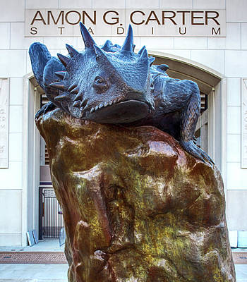 Photograph - Horned Frogs Amon Carter 022519 by Rospotte Photography