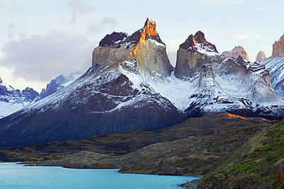 Photograph - Horns Of Paine by Dmathies